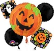 Halloween Pumpkin Balloon Bouquet
