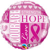 Breast Cancer Awareness Foil Balloons