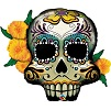 Day Of The Dead Skull Shape