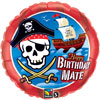 Pirate Ship Birthday Mate Foil Balloon