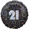 A Time To Party 21 Foil Balloons