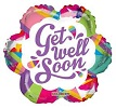 Get Well Soon Non-Foil Balloon