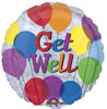 Get Well Preinflated Balloons