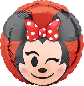 Minnie Mouse Emoji Balloons