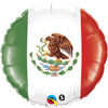 Mexican Flag Balloons