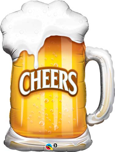 Beer Mug Cheers Balloon Shape