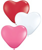 Love Assorted Hearts Balloons