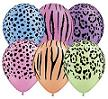 Qualatex Jungle Print Latex Balloons