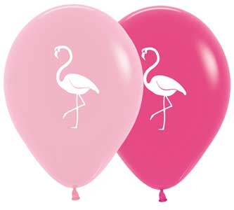 Flamingo Balloon Assortment