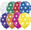 Jewel Assorted Polka Dot Balloons