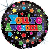 You're Awesome Stars Foil Balloons