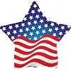 Patriotic Waving Star Balloons
