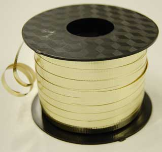 Crimped Metallic Curling Ribbon 3/16 inch