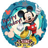 Singing Mickey Clubhouse Birthday Foil Balloon (28 inch)
