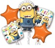 Despicable Me Party Balloon Bouquet