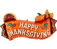 Thanksgiving Banner Shape