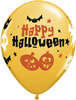 Halloween Fun Icons Latex Balloons
