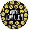 Emoji How Old? Foil Balloons
