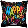 Birthday Printed Foil Balloons