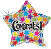 Congrats Star (Holographic) Foil Balloon