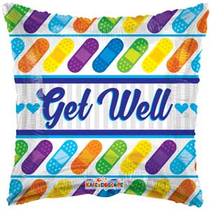 Get Well Bandages Balloons