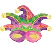 Mardi Gras Mask Shape
