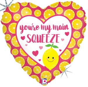 Main Squeeze Foil Balloons