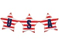 'USA' Bunting Balloon
