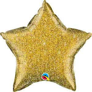 Glittergraphic Gold Star