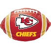 Kansas City Chiefs Football Foil Balloons
