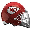 Kansas City Chiefs Helmet Shape