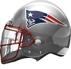 New England Patriots Helmet Shape