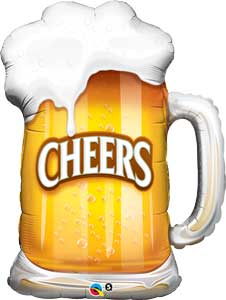 Beer Mug Cheers Shape