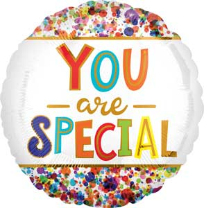 You Are Special Foil Balloons