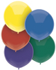 "BSA 17"" Outdoor Latex Balloons (Case Quantities)"