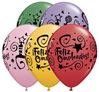 Feliz Cumpleanos Party Balloons