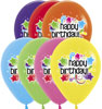 Starburst Birthday Balloons
