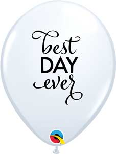 Simply Best Day Ever Balloons