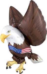 Patriotic Eagle Foil Balloon