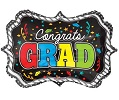 Congrats Grad Frame Junior Shape